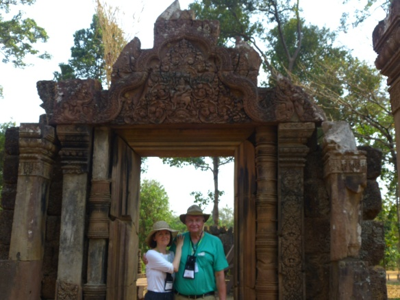 At Banteay Srei, the Temple of the Women