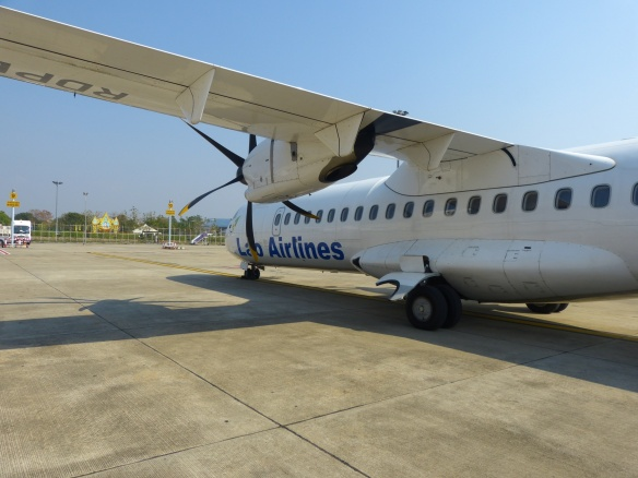 Our chariot to and from Laos.