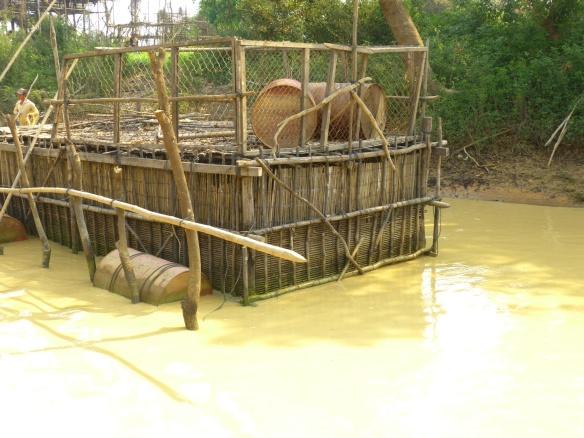 A fish farm