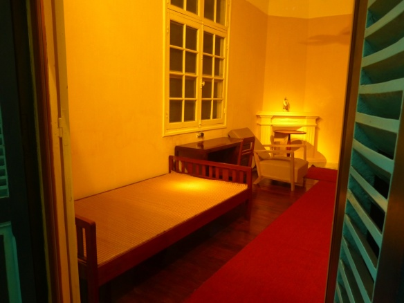 Ho Chi Minh's bedroom