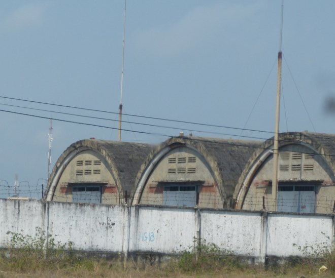 What remains of the former US airbase at DaNang
