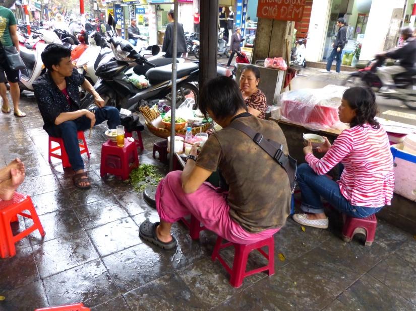 Sidewalks of Hanoi