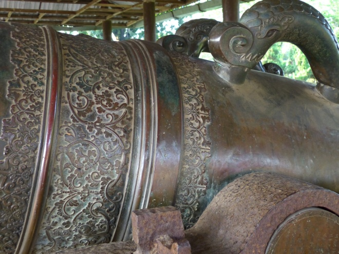 "The Vietnamese are incredible craftsmen. This is one of the ""four seasons"" guns."