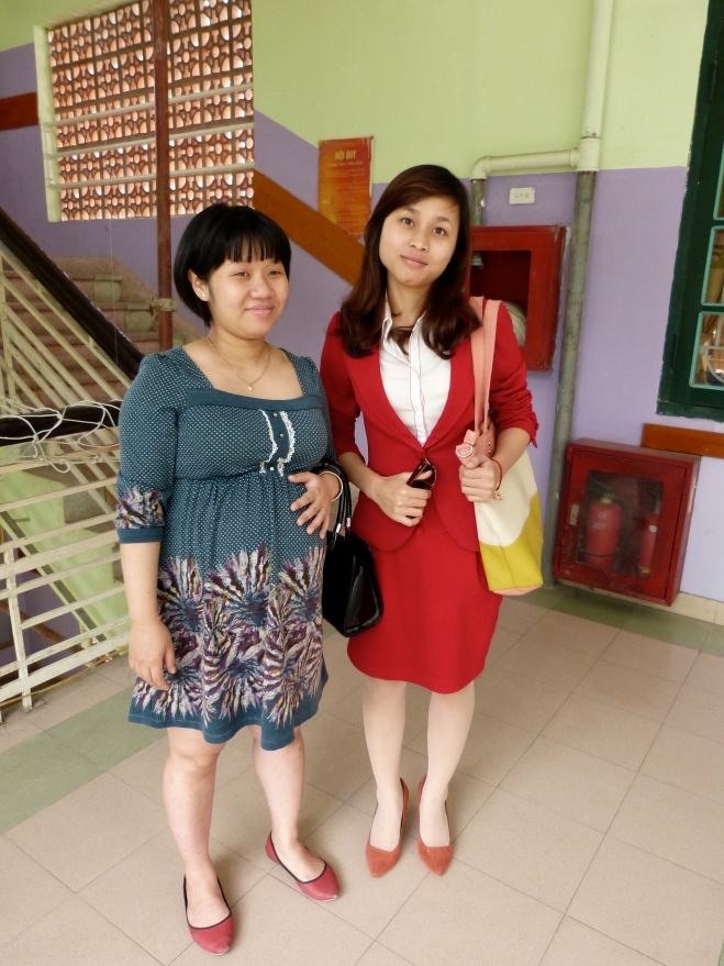 Mrs. Vananh and Miss Lan