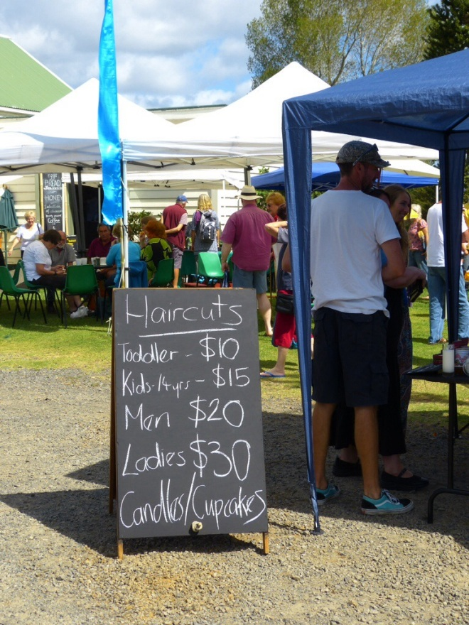 Farmer's market,on the way to Whangamata