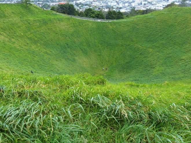 You can go into this Volcanic Crater