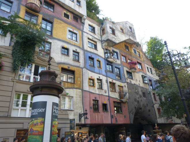 Vienna -- This will give you an idea of what Hundertwasser's art is like.