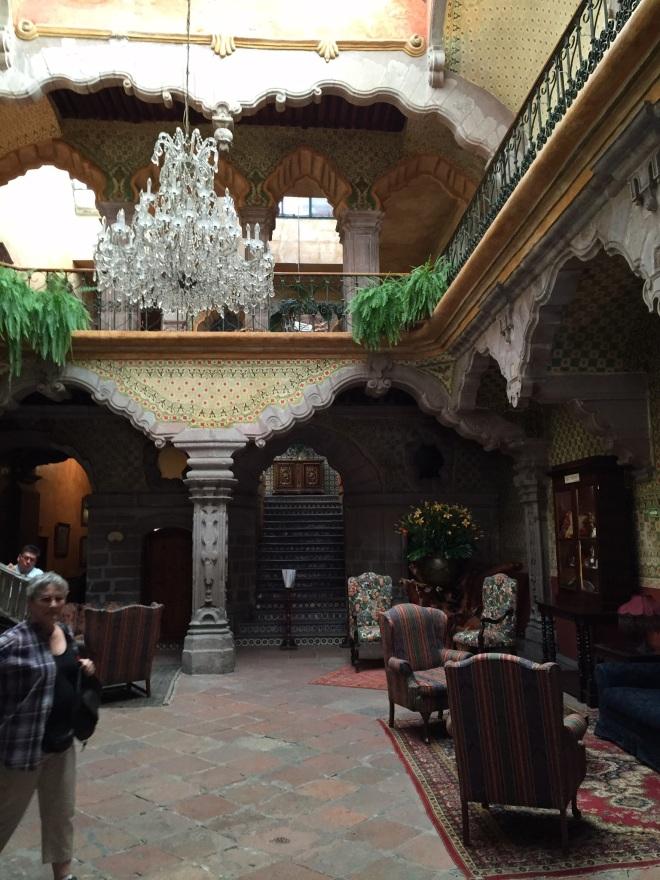 Lobby of the Casa de la Marquesa