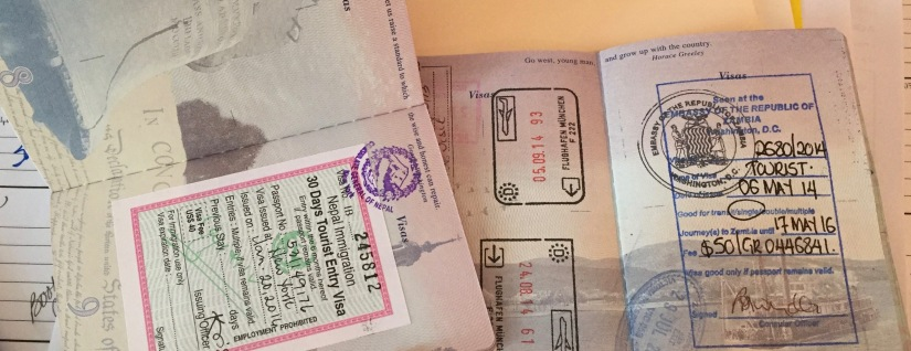 Four Visas, Three Countries