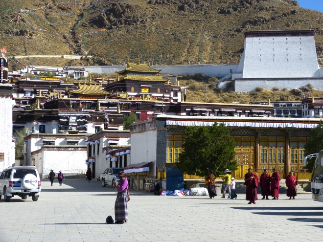 Entrance to the Tashilhunpo Monastery