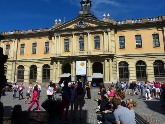 Former stock exchange, now Nobel Museum